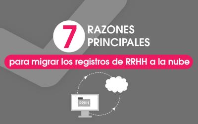 7 Razones para Migrar los Registros de RRHH a la Nube